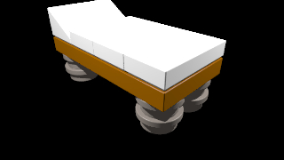 Tirpitz: Single bed
